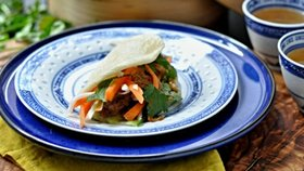 Steamed pork buns Foto:
